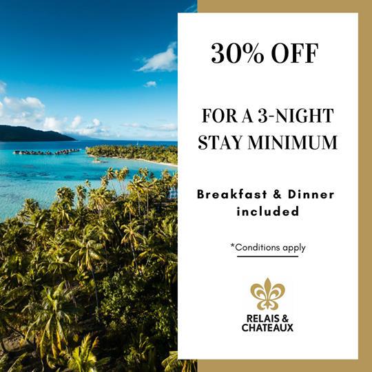 DEAL | Le Taha'a Island Resort & Spa – Relais & Châteaux