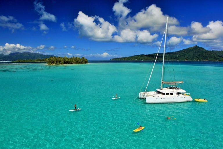 Polinesia en Yate Privado